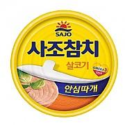 참치캔-살코기100g(사조)