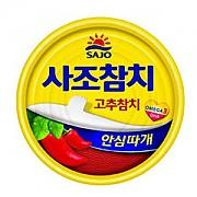 참치캔-고추100g(사조)