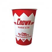 음료컵(크라운)-12온스종이컵(하이시스)