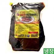 오쉐프매운데리야끼소스2kg(오뚜기)